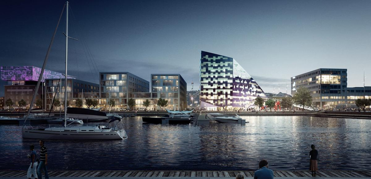 Infra-Powerhouse Brattøra, Trondheim, Norway - office building