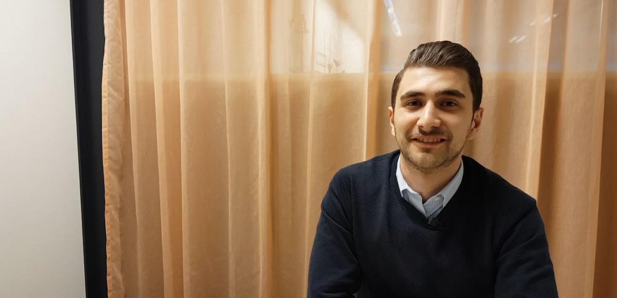 Sam Khatib Medical Engineer from Syria found AFRY by recommendation