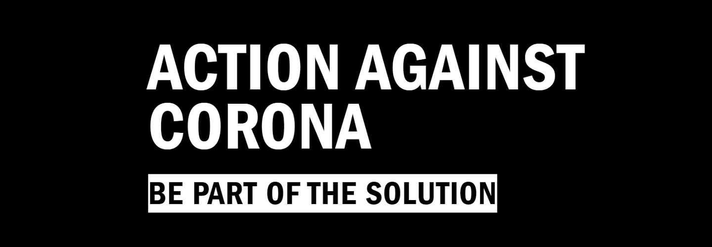 Action against corona