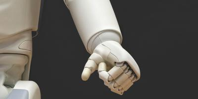 Robot Digital Twin hand white