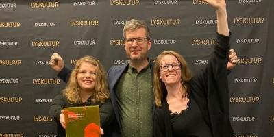 Light bureau won norsk lyspris with under
