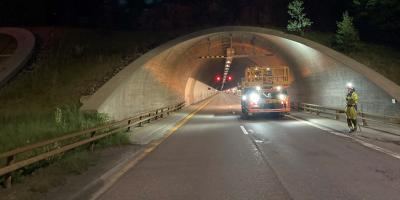Eidsvoll tunnel inspection Norway