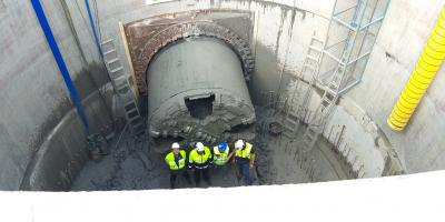 tbm break-through