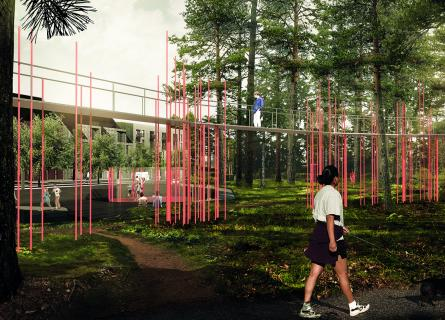 The way we design urban environments has a major impact on opportunities for humans and wildlife to thrive and grow. In the development of Bäckaslöv, Växjö's new city district in Sweden,