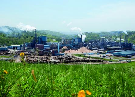 80 percent of the investment is directly designated for initiatives to improve the mill's environmental performance.