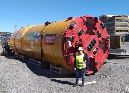 TBM tunneling method