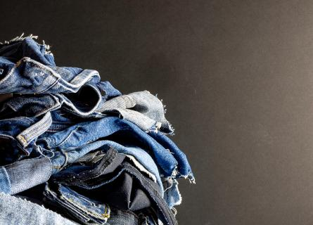 Jeans for recycling