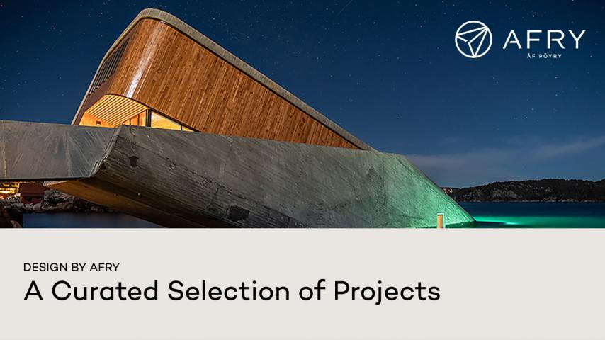 Design by AFRY - A Curated Selection of Projects - video preview image